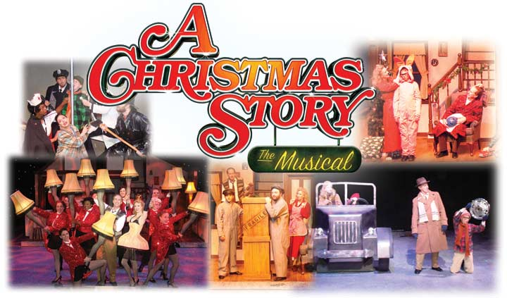 """""""A Christmas Story: The Musical"""" at La Comedia Dinner Theatre - November 4 - December 30, 2021"""